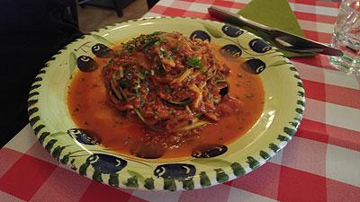 leckere italienische Hauptspeise paleokonform