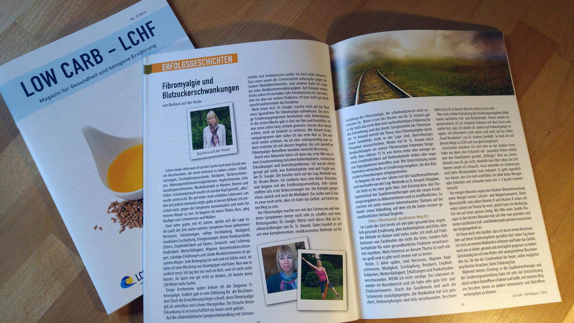 LCHF-Magazin zur gesunden, kohlenhydratarmen Ernährung