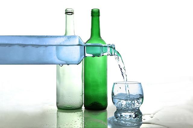 viel Wasser bei Wassereinlagerungen
