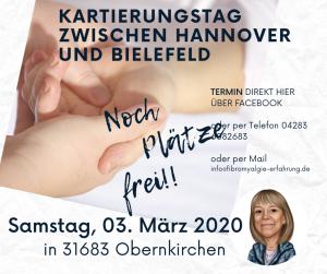 Kartierungstag zwischen Hannover und Bielefeld